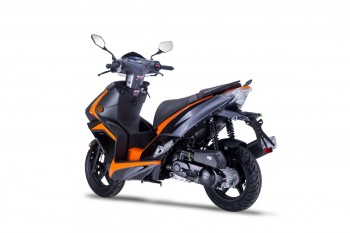 DARKNESS 50 EVO2 - schwarz/orange 45kmh