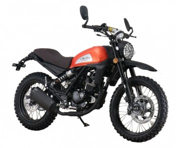 Dakar 125 orange