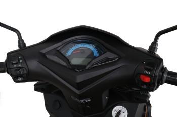 DARKNESS 50 EVO2 - matt schwarz 45kmh