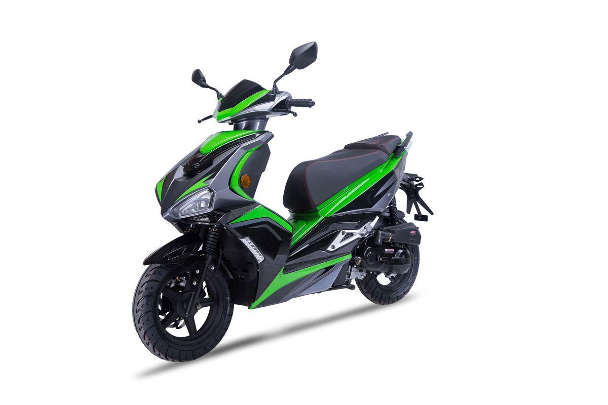 DARKNESS 50 EVO2 - schwarz/grün 45kmh