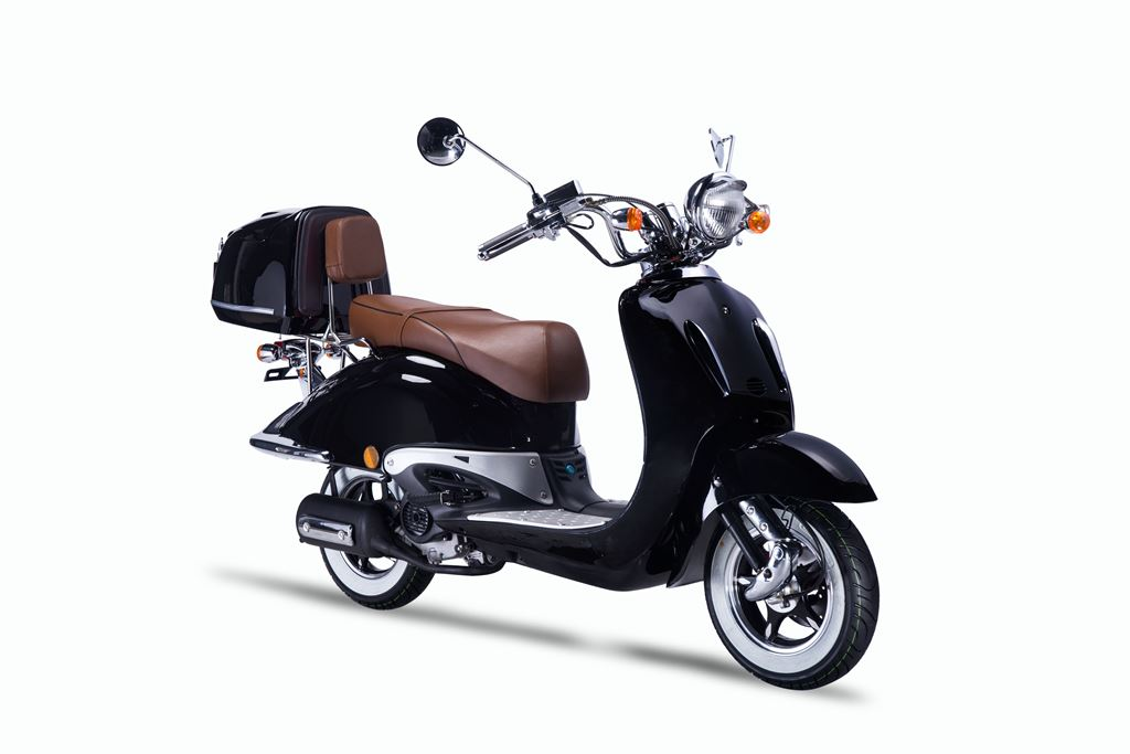 techno classic 2 0 50 ccm efi motorroller scooter 5. Black Bedroom Furniture Sets. Home Design Ideas