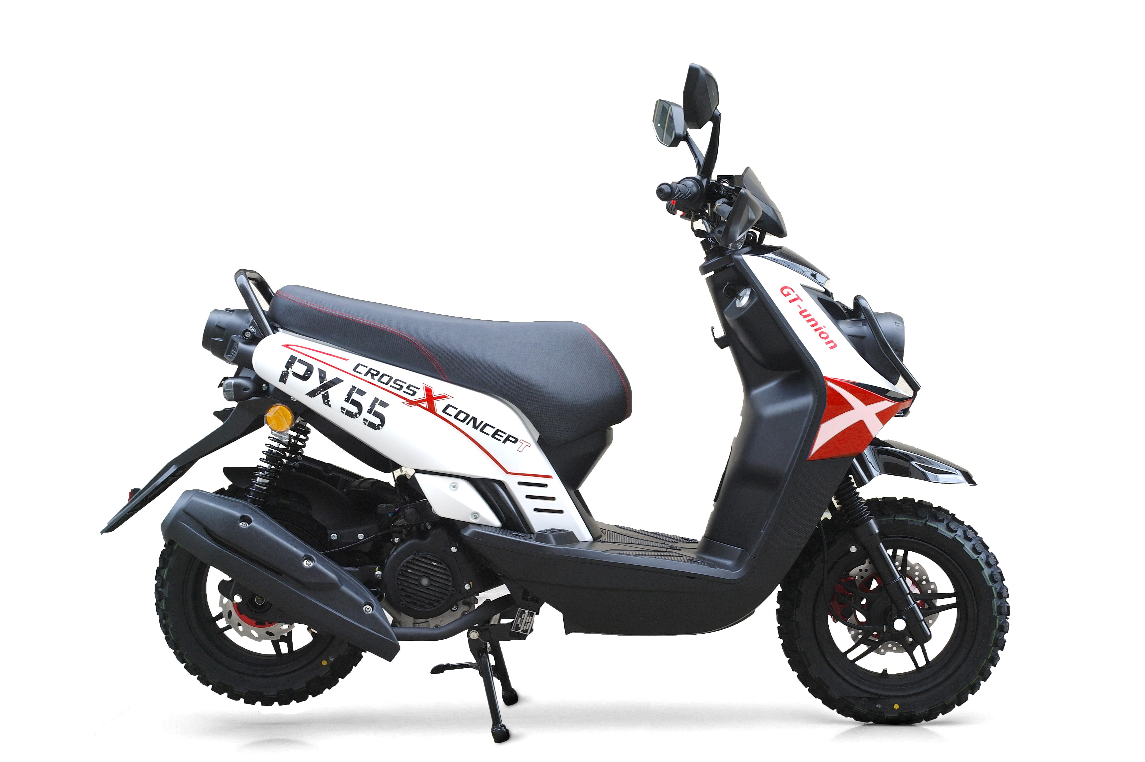 cross concept 125ccm motorroller online kaufen. Black Bedroom Furniture Sets. Home Design Ideas