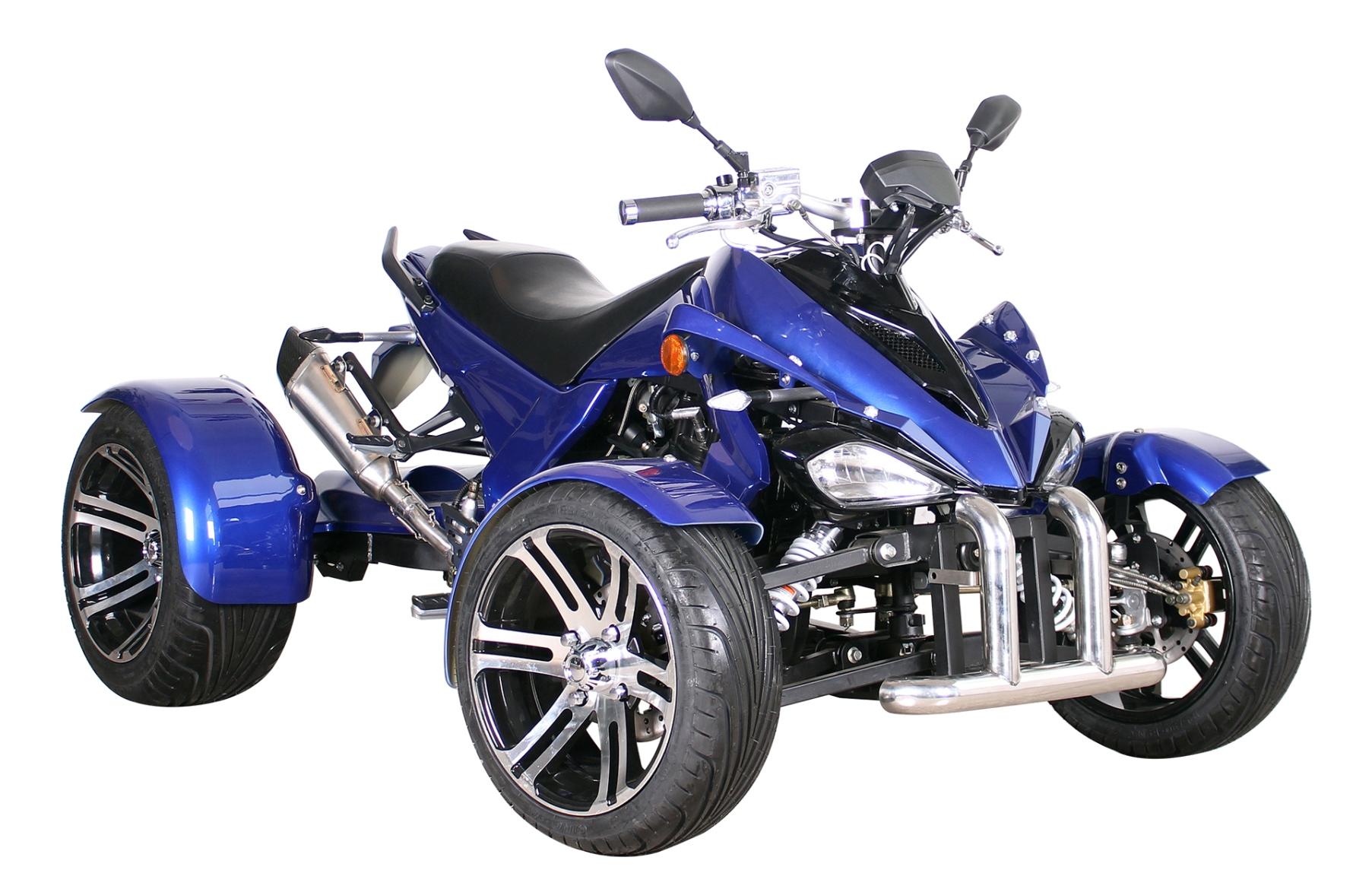 SPY GT 350 EFI  - blau