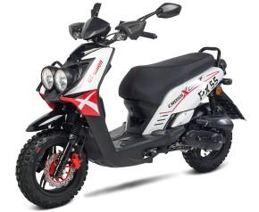 BW Cross 50 - 50ccm 45kmh MOTORROLLER ROT